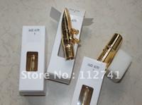 Wholesale NEW JAZZ ALTO saxophone mouthpiece mental mouthpiece alto jazz golden color number