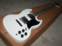 other other other Wholesale - Customize popular white SG electric guitar, stock