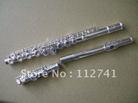 Wholesale New Arrival Advanced Carved silver flute With hard case