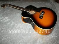 Wholesale New arrival Honey burst Acoustic Electric Guitar
