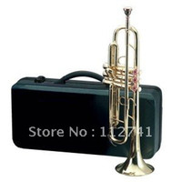 Wholesale BRASS TRUMPET WITH FREE CASE INCLUDED
