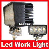 Wholesale Black Small Spot Fog Light Kit Tractor Offroad Heavy Duty Car Atv LED Working Light