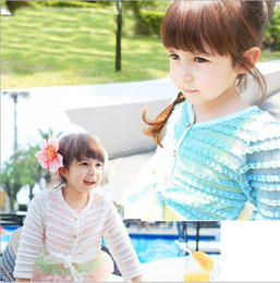 Wholesale Autumn Children Cardigan Kids Clothing Bud silk small cardigan year girls clothes baby dress
