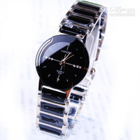 Wholesale Luxury Watches Man Quartz Wrist Watches Black White Strap Personalized Designer Watches