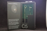 Wholesale Hot Sale Bowers Wilkins C5 In Ear Earphone Headphones Headsets For iPod iPhone iPad high quality