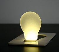 Wholesale Mini Wallet Pocket Wireless LED Card Night Light Lamp Portable
