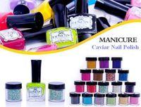 More Colors Nail Polish other Nail Art Kits Manicure Beautiful Caviar Nail Polish Caviar Beads Fashion Decoration 20sets