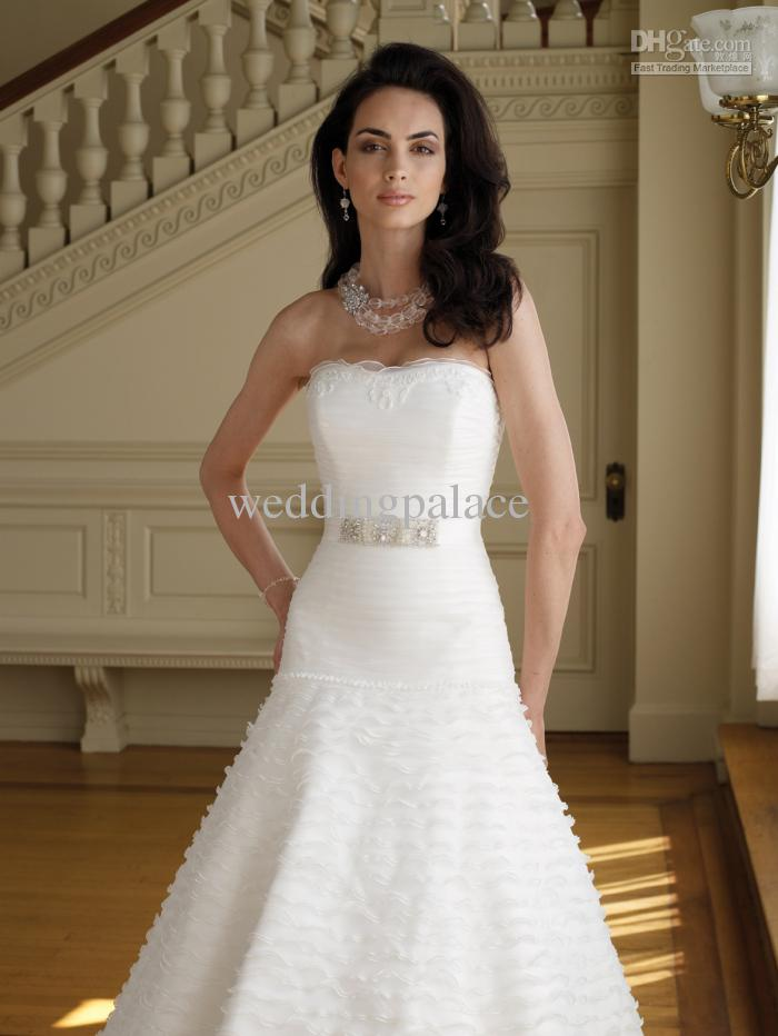 2017 Glamorous Crystal Belt On Waist For Wedding Dress Bridal ...