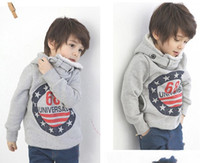 Wholesale New Autumn winter Kids Clothing Children Coat Kids Hoodies Boy Hoody Girl Hoody overcoat