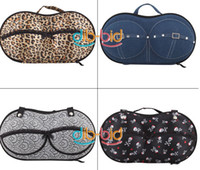 Wholesale Portable Lovely Travel Protect Bra Underwear Lingerie Case Organizer Bra Bag