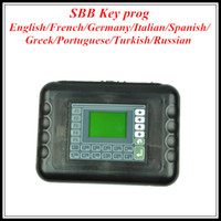 Wholesale SBB KEY PRO SBB V33 Newest TRANSPONDER KEY PROGRAMMER Honda Ford VW Citroen Car Key Maker obd03
