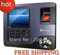 Wholesale Biometric Fingerprint Time Attendance SYSTEM Recorder Clock ID CARD TFT COLOR SCREEN TCP IP USB FREE