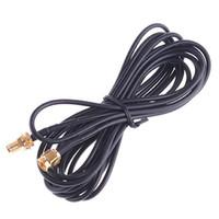 al por mayor antenas wifi para la venta-3m Antena WiFi RP-SMA Cable de Extensión de Router Wi-Fi se conectan Directamente a la Venta Caliente Envío Gratis C535