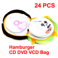 Fabric cd carrying case - 50 CD DVD VCD Carrying Bag Case Holder Wallet Disc Disk Soft Storage