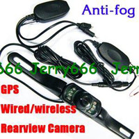 Wholesale AV IN Night Vision Rear View Camera GPS DVD rear view system Wireless Car Rear Backup Camera Car Rear View Reverse Wide View Vision for GPS