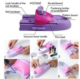 Wholesale Nail Art Colors Drawing Polish Kit Stamper DIY Printer Nail Stamping Printing Machine