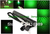 Wholesale Burn matches Recharge Battery Charger mw mw mw strong power star green laser pointer with