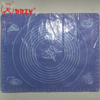 Wholesale Large Silicone Mat Silicone chopping board Bake ware pad with graduation cm cm