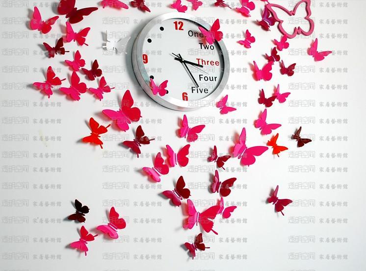 Аппликация из бабочек на стену своими руками