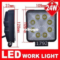Wholesale Led Work Light LED Offroad Driving Work Material Diecast Aluminum Housing Square K For Jeep