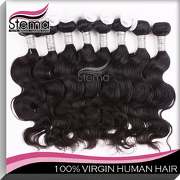 Wholesale 100 Brazilian Virgin Hair A Human Weave Hair Extensions Gram Body Wave Mix Size