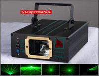 Wholesale Micro Step Motor Sound Activated Auto Running Mini Projector Green Moving Party Laser Stage Light