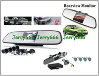 Wholesale DHL Free receive days NEW Car Reverse Monitor rearview Night vision Rearview Camera Parking Sen