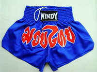 Wholesale men sport wear Thai boxing trunks MMA shorts durable training pants martial arts short pants fight short