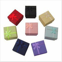 Wholesale ring box ring case jewelry rings paper boxes gift package box