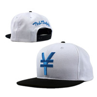 Wholesale Pink Dolphin LTD FG Snapback In White Blue Snapbacks Hats Cap Strap Back High Quality Mix Order