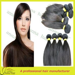 Wholesale New fashion peruvian hair for black women single drawn Peruvian human hair weaving Free shiping