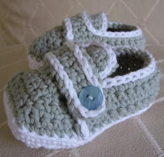 2016 Crochet Pattern Baby Boy Shoes First Walker Shoes Loafers Size ...