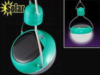 Wholesale NEW Solar Powered LED Bulb Hanging Lanterns light