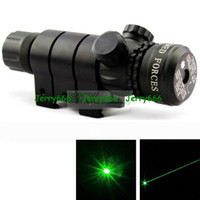 Wholesale 50MW NM HUNTING GREEN LASER SIGHT WITH GUN MOUNT CR123A INCLUDED