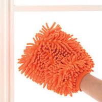 Wholesale Car Wash Glove Microfiber Chenille car cleaning cloth chenille car cleaning gloves pc