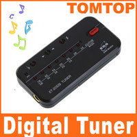 Wholesale Hot Digital electric acoustic guitar bass string tuner black note equal temperament I3