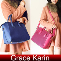 Wholesale Grace Karin New Designer Handbags Shoulder Messenger Bag Cheap Handbag Suede PU Leather BG381