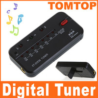 Wholesale Digital electric acoustic guitar bass string tuner I3 black note equal temperament