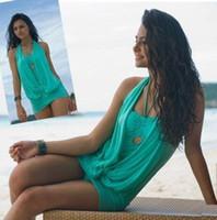 Cheap One Pieces women one piece Swimwear Best Polyester Solid stylish swimwear
