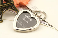 Wholesale valentine gift heart lover glass photo locket pendants charm key chains jewelry