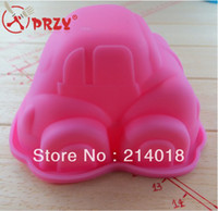 Wholesale car silicone cake mold Birthday cake mould Baby favorite According to the food safety certification