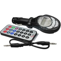 Wholesale 206 Channels Car MP3 player wireless FM Transmitter