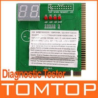 Wholesale PC PCI amp ISA MB Analyzer Diagnostic POST CARD Tester Free Drop Shipping C631GR