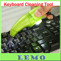 Wholesale KEYBOARD CLEARNER MINI USB VACUUM KEYBOARD CLEANER for PC LAPTOP