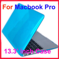 Wholesale 13 inch MACBOOK PRO transparent Crystal TPU Case for Macbook Unibody Laptop Cover Protective Case