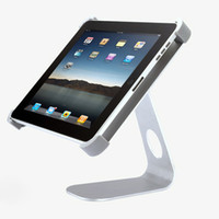 Wholesale 1pcs desktop holder stand M shape Rotatable metal stand for ipad with package
