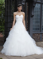 Wholesale Plus Empire Mermaid Organza Applique Halter Wedding Dresses Bridal Prom Gowns Zipper Button B88