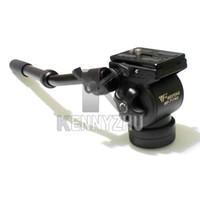 Wholesale WF AH Professional Video Camera Tripod Action Fluid Drag Head For DSLR Camera