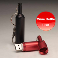 HOT 4GB 8GB 16GB USB Flash Drive In Wine Bottle Design Made ...