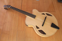 Wholesale NEW BRAND AAA Hand carved Archtop quot Jazz Guitar With Case